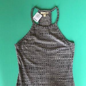 Very sexy grey tank dress